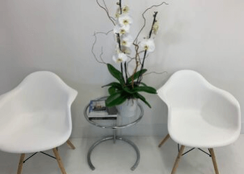 Dental Studio Practice Entrance Chairs